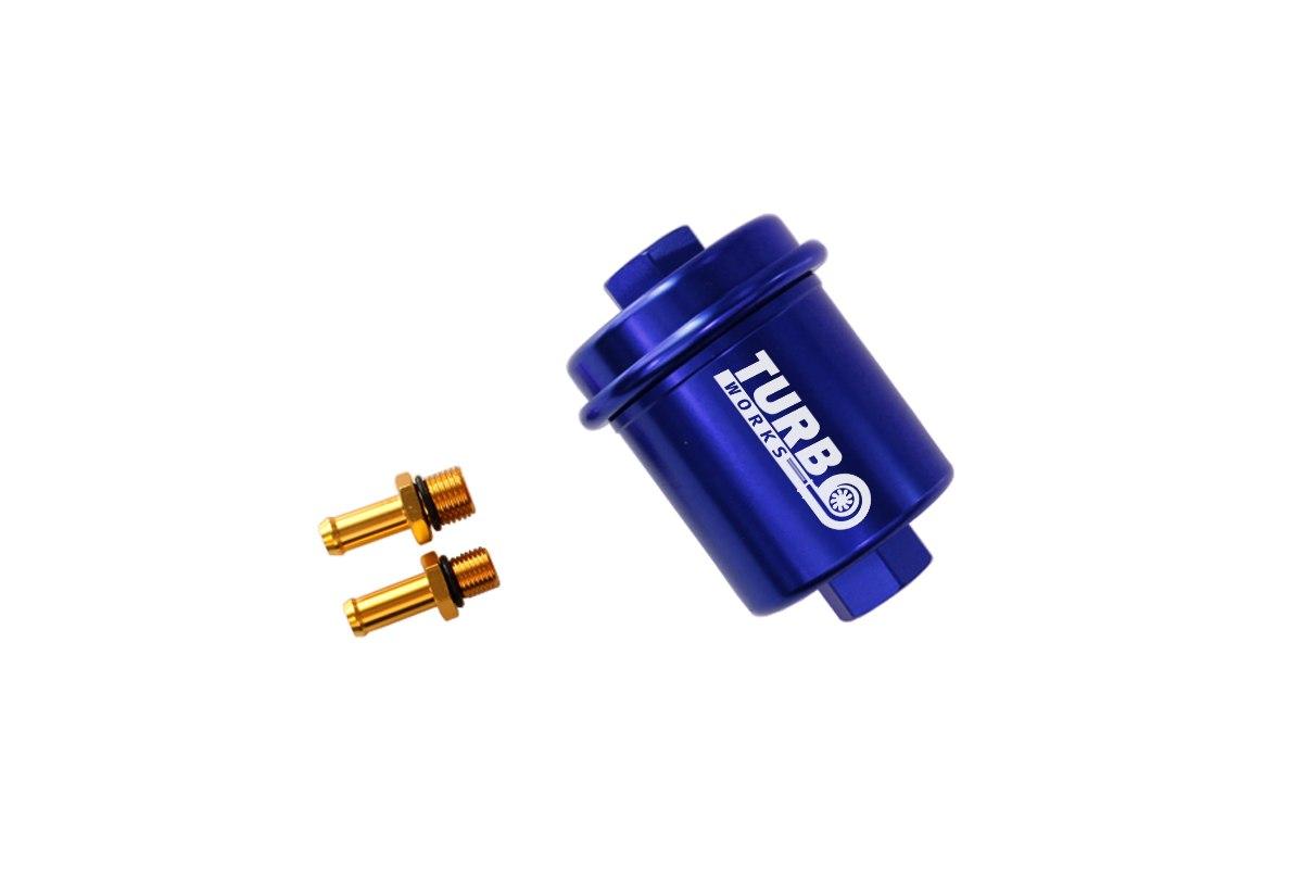Filtr Paliwa 500 lph Blue - GRUBYGARAGE - Sklep Tuningowy